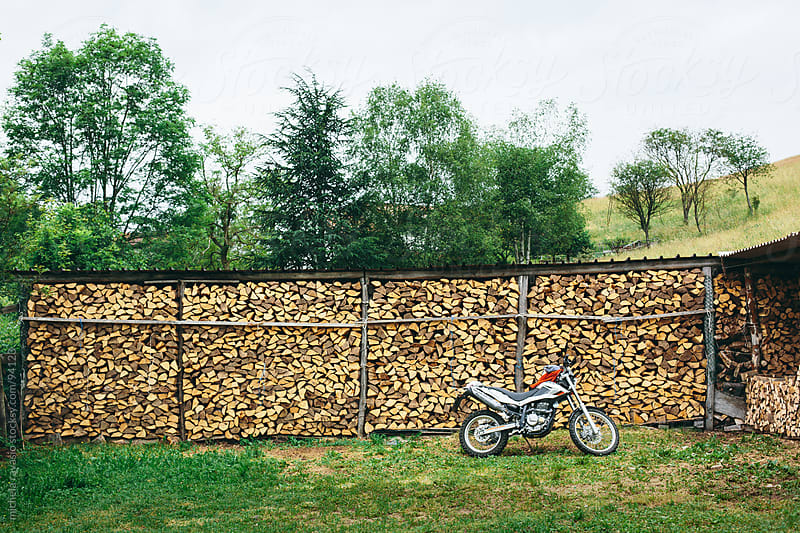 Woodshed outdoor by michela ravasio for Stocksy United