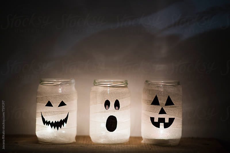 Halloween jars by Jovana Rikalo for Stocksy United