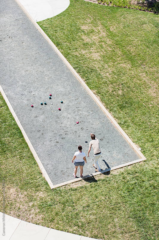 Bocce Ball  by Cameron Whitman for Stocksy United