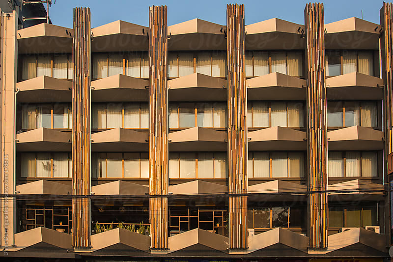 Brown Balconies by Diane Durongpisitkul for Stocksy United