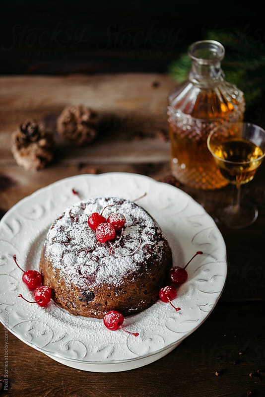 British Christmas pudding by Pixel Stories for Stocksy United