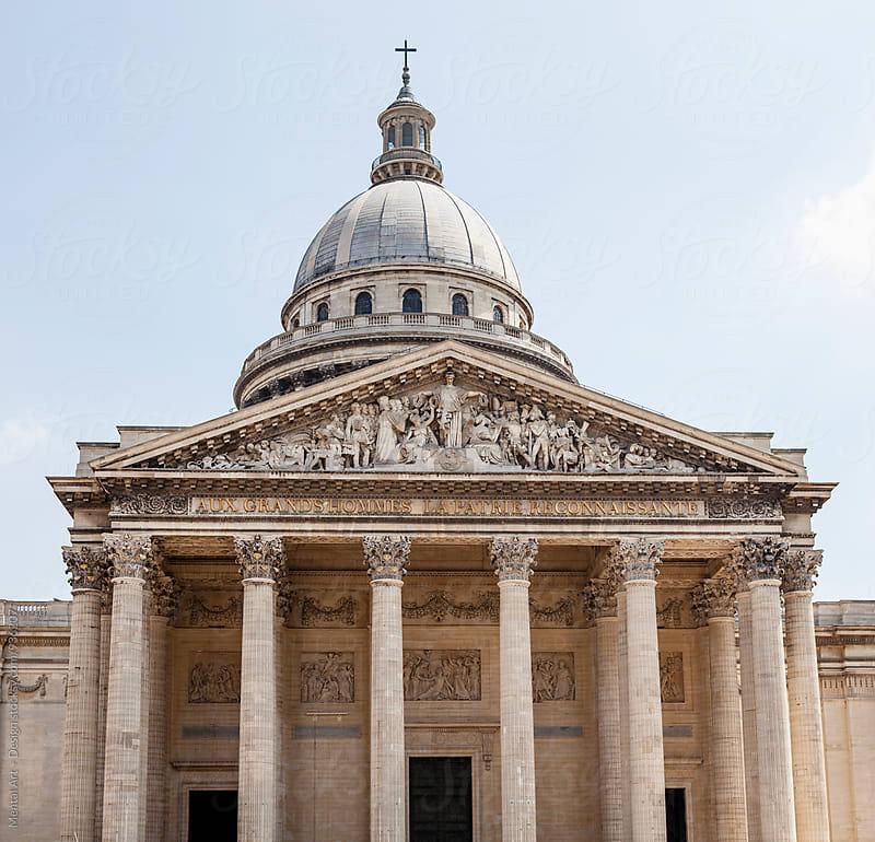 Pantheon, Paris, France by Mental Art + Design for Stocksy United