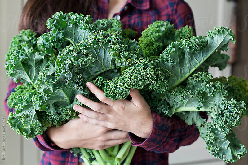 Bunch of Kale by Jill Chen for Stocksy United