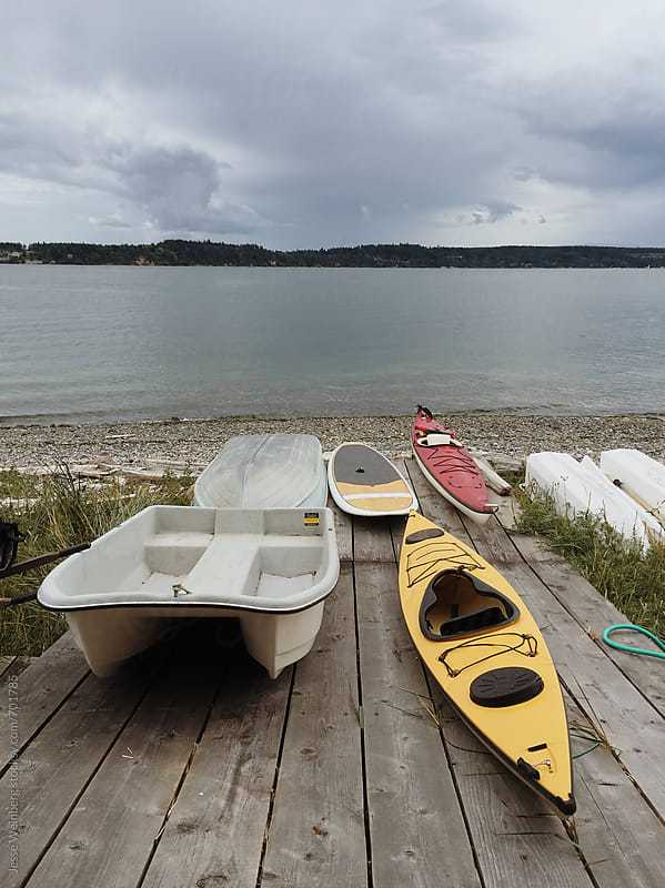 Lots of Boats by Jesse Weinberg for Stocksy United