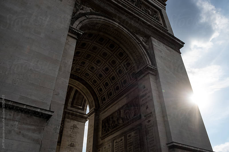 The Arc de Triomphe by Studio Six for Stocksy United