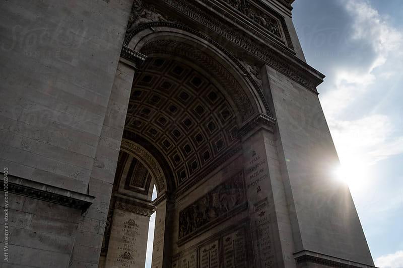 The Arc de Triomphe by Jeff Wasserman for Stocksy United