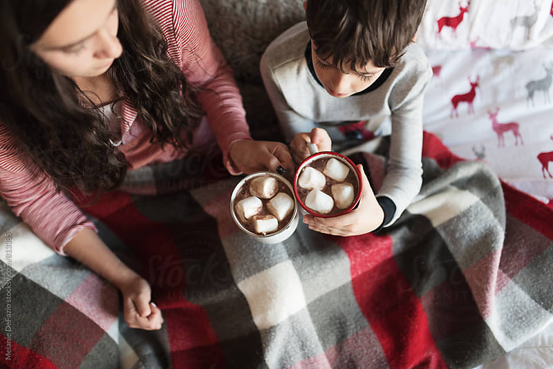 Hot chocolate by Melanie DeFazio for Stocksy United