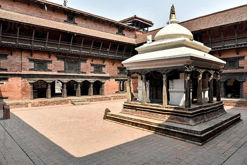 Nepali palace in Patan by Bisual Studio for Stocksy United