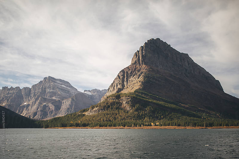 Many Glacier at Glacier National Park by Jake Elko for Stocksy United