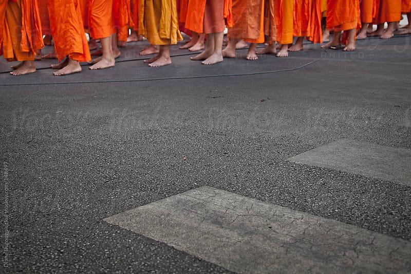 Buddhist Monks #3 by Diane Durongpisitkul for Stocksy United