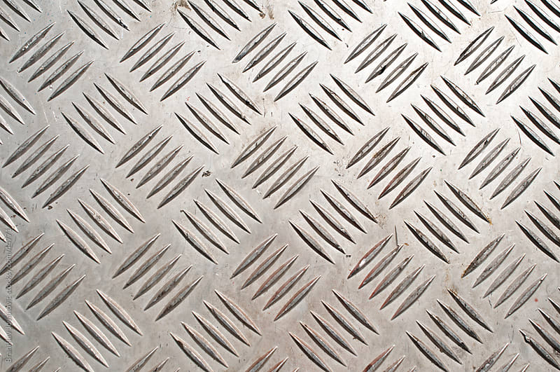 Metal plate with pattern by Branislav Jovanović for Stocksy United