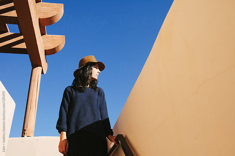 Girl on Vacation by luke + mallory leasure for Stocksy United