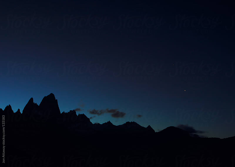 Andes silhouette by Jon Attaway for Stocksy United