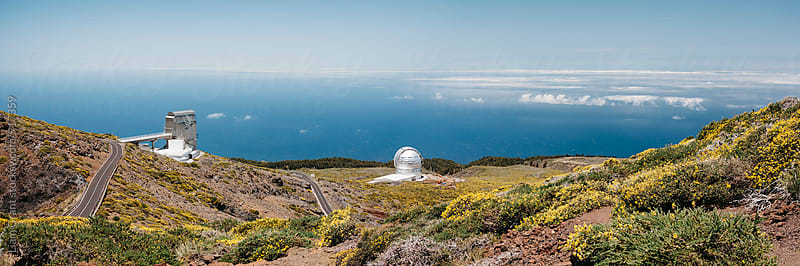 Roque de los Muchachos Astronomical Observatory. La Palma, Canary Islands. by Liam Grant for Stocksy United