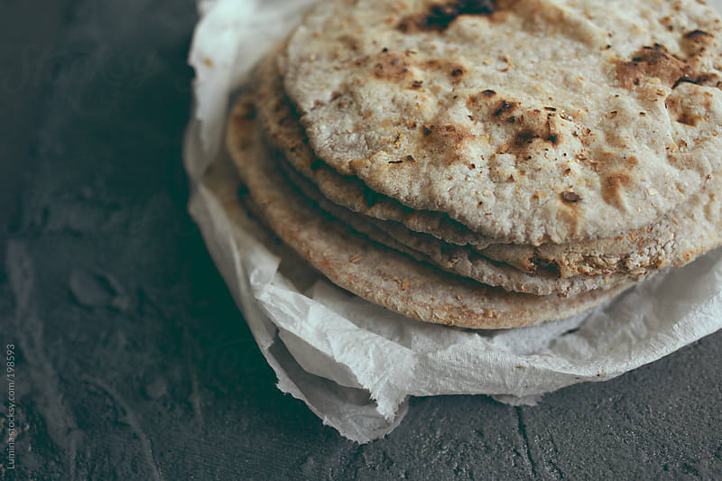 Naan (Indian Bread)  by Lumina for Stocksy United