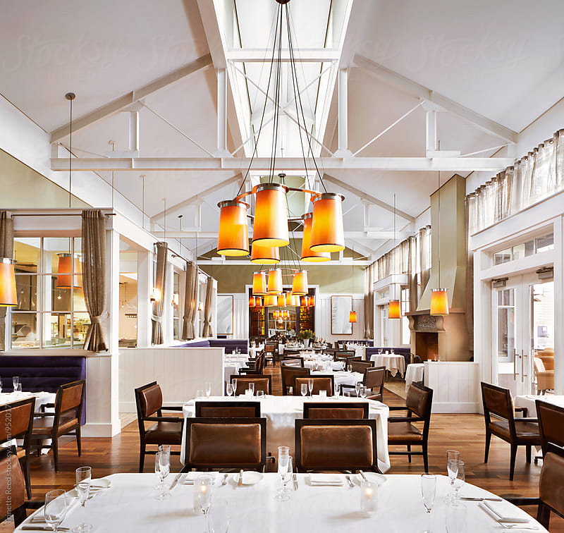 Architecture image of Luxury Restaurant  by Trinette Reed for Stocksy United
