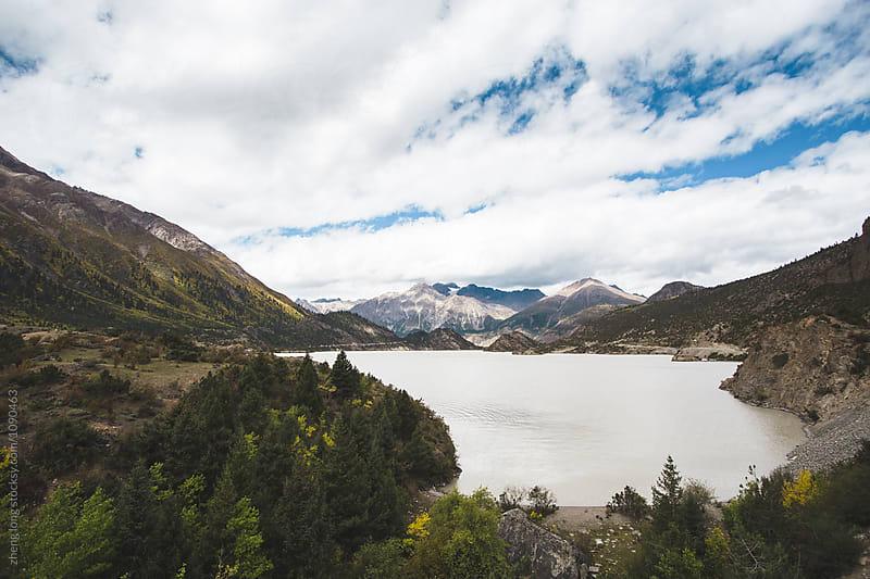 Ranwu lake in Tibet by zheng long for Stocksy United