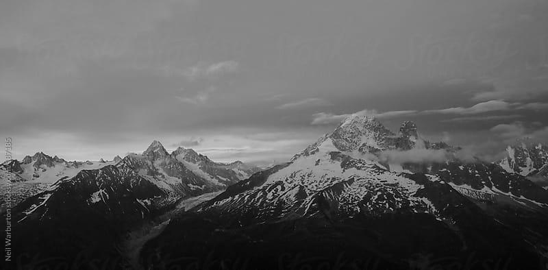 Alpine Panorama by Neil Warburton for Stocksy United