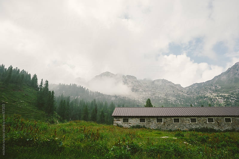 Mountain landscape by michela ravasio for Stocksy United