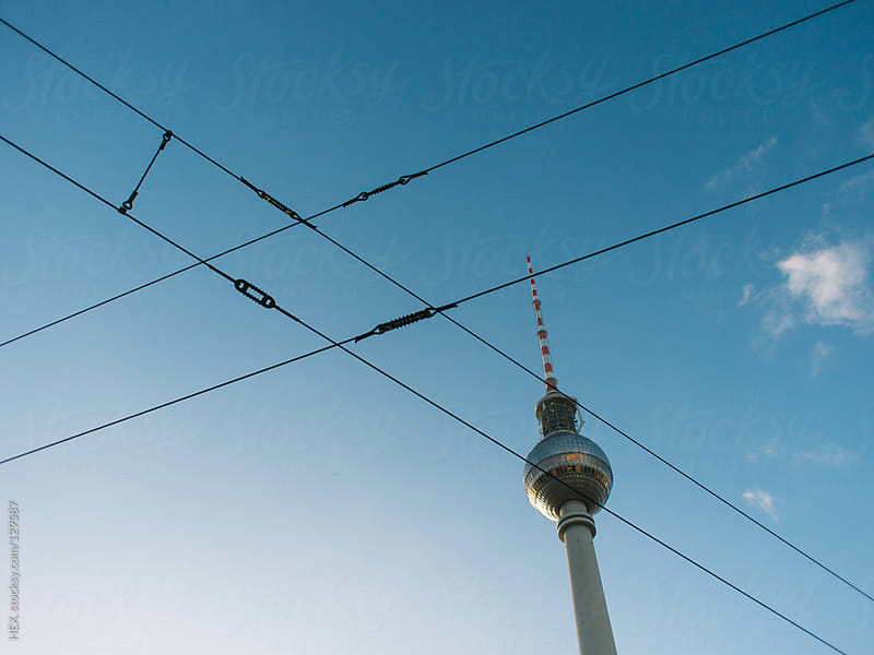 TV Tower of Alexanderplatz in Berlin by HEX. for Stocksy United