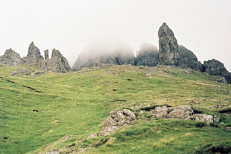 Old Man of Storr, Scotland by Ryan Tuttle for Stocksy United