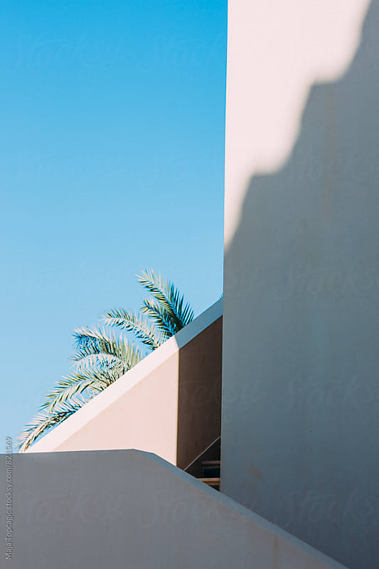 Beautiful buildings in Doha by Maja Topcagic for Stocksy United