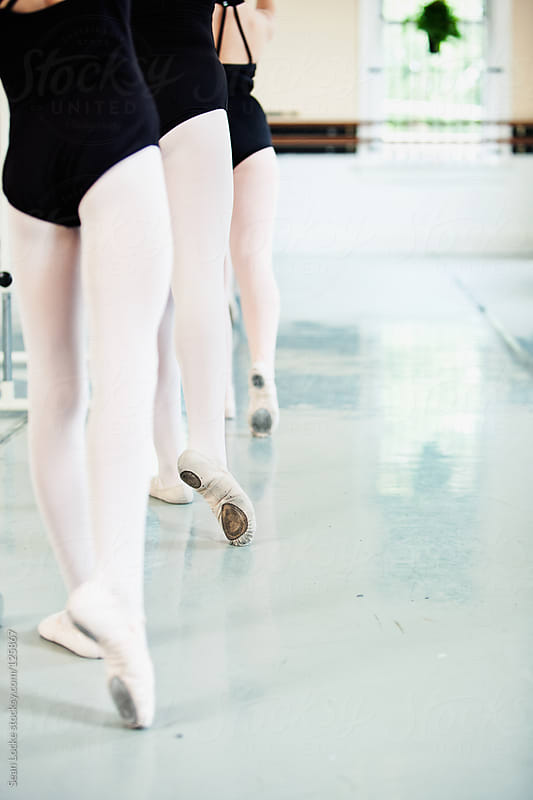 Ballet: Pointing Toes in Class by Sean Locke for Stocksy United
