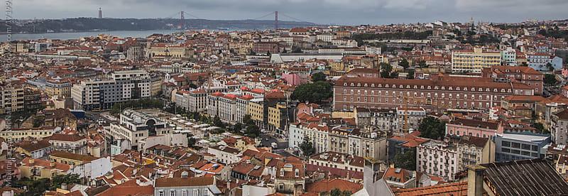 Lisbon by day by Maximilian Guy McNair MacEwan for Stocksy United