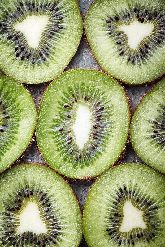 Kiwi fruit by James Ross for Stocksy United