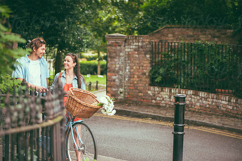 Romantic Stroll throught Town by Aila Images for Stocksy United