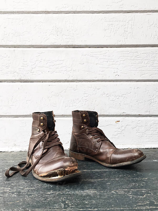 old boots by ian pratt for Stocksy United