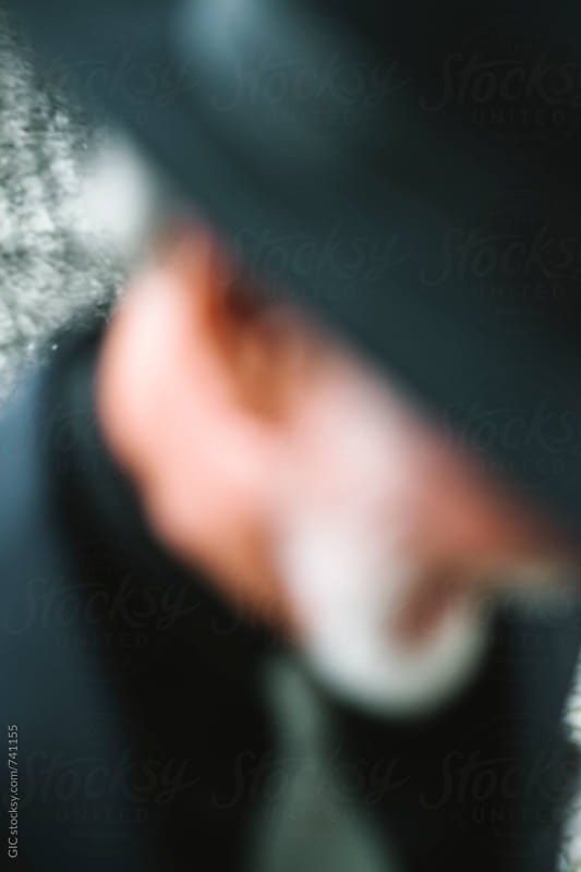 Blurred classy senior man portrait by GIC for Stocksy United