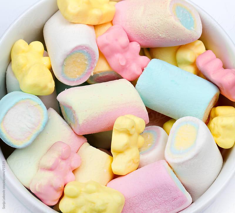 marshmallows by Sonja Lekovic for Stocksy United