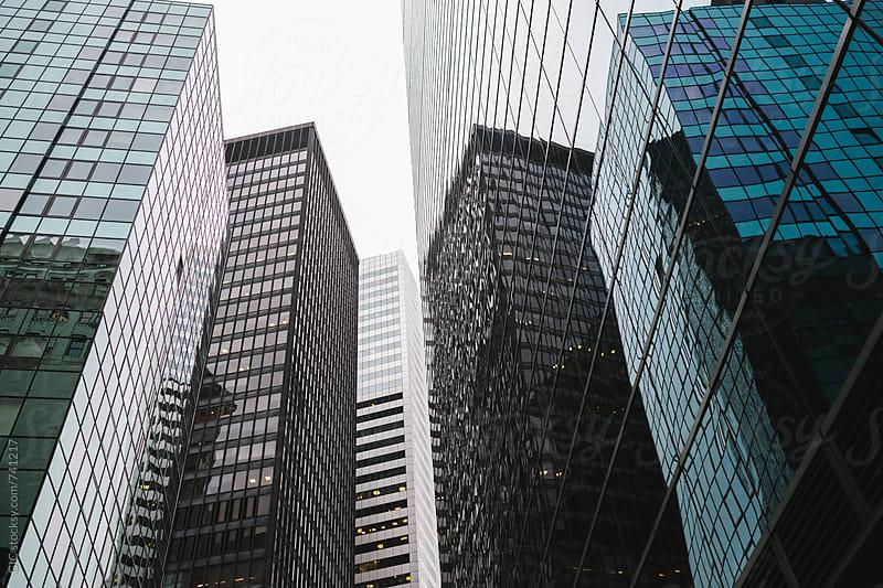 Modern skyscraper in New York City by Simone Becchetti for Stocksy United