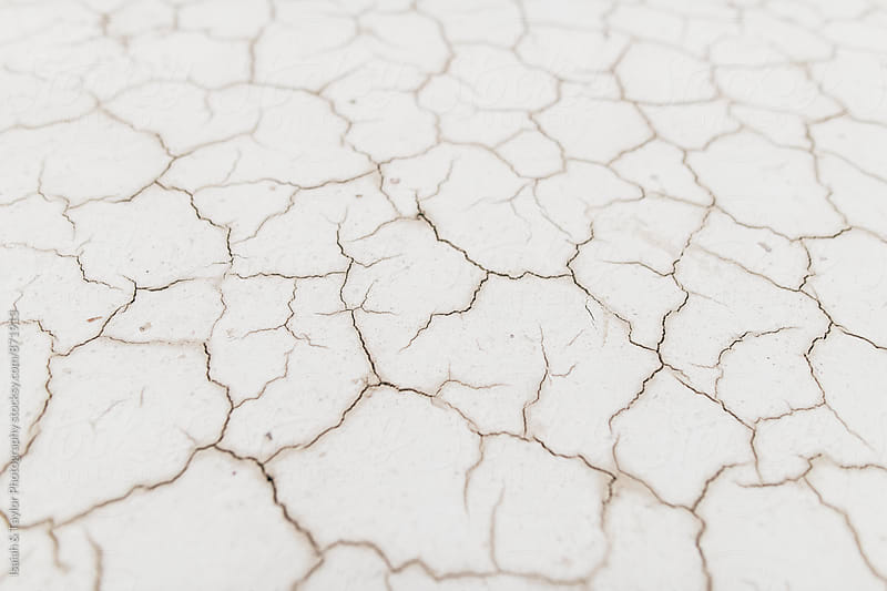 Minimal White Desert Texture by Isaiah & Taylor Photography for Stocksy United