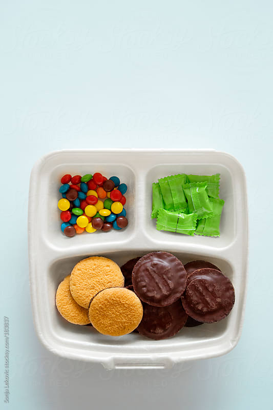 candy meal by Sonja Lekovic for Stocksy United