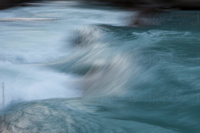 Abstract shot of a river. by Shikhar Bhattarai for Stocksy United