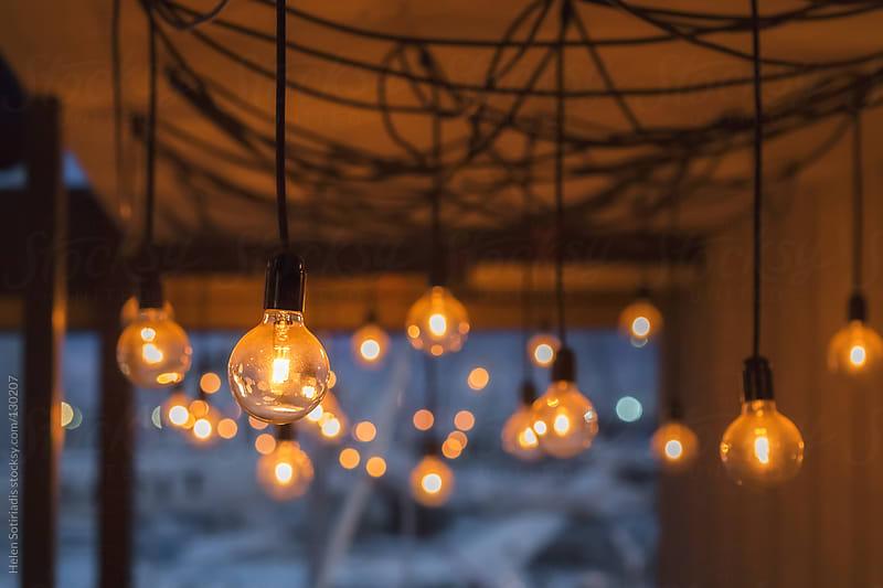 Light Bulbs by Helen Sotiriadis for Stocksy United