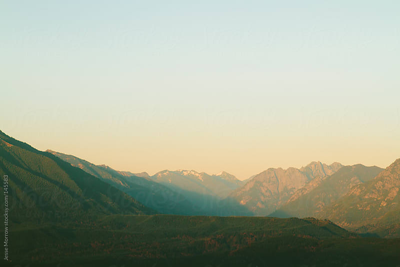 Rattlesnake Ridge landscape views by Jesse Morrow for Stocksy United