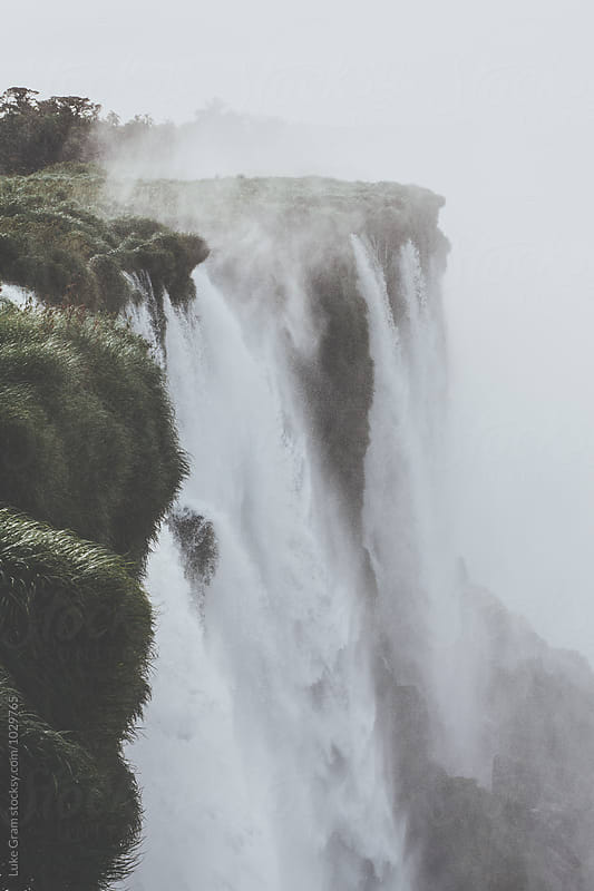 Iguazu Falls by Luke Gram for Stocksy United