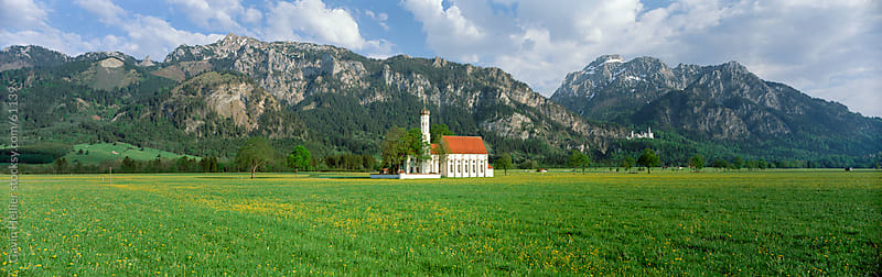 St. Coloman Church, Oberbayern, Bavaria, Germany, Europe by Gavin Hellier for Stocksy United