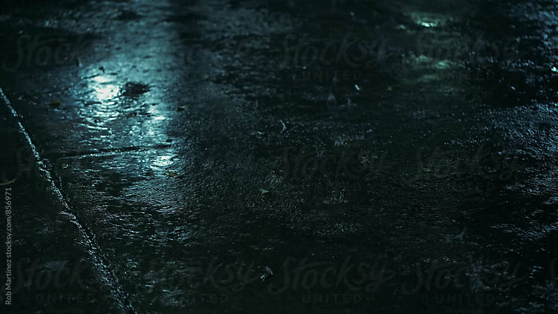 NIGHT RAIN by Rob Martinez for Stocksy United