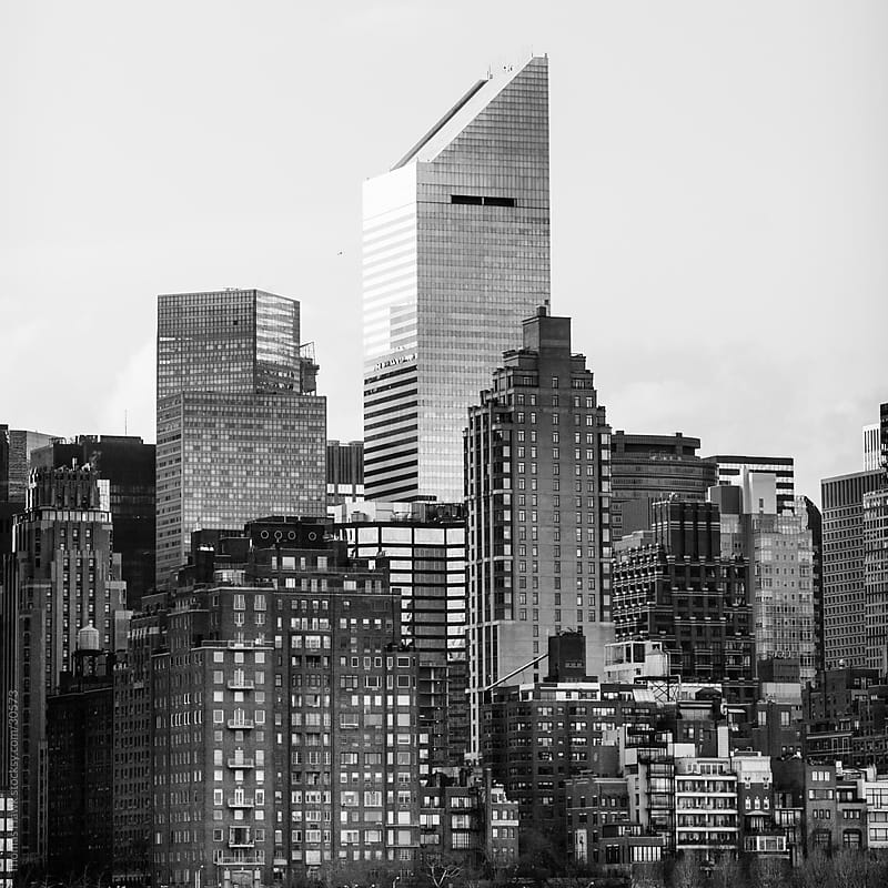 New York Cityscape by Thomas Hawk for Stocksy United