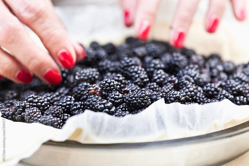 Making Pie by Jill Chen for Stocksy United