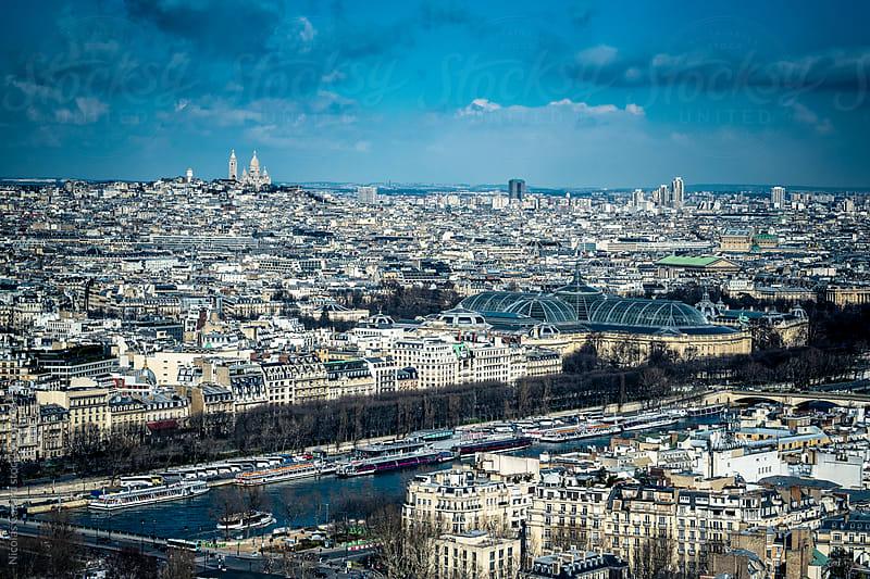 Over Paris by Nicolas Cazard for Stocksy United
