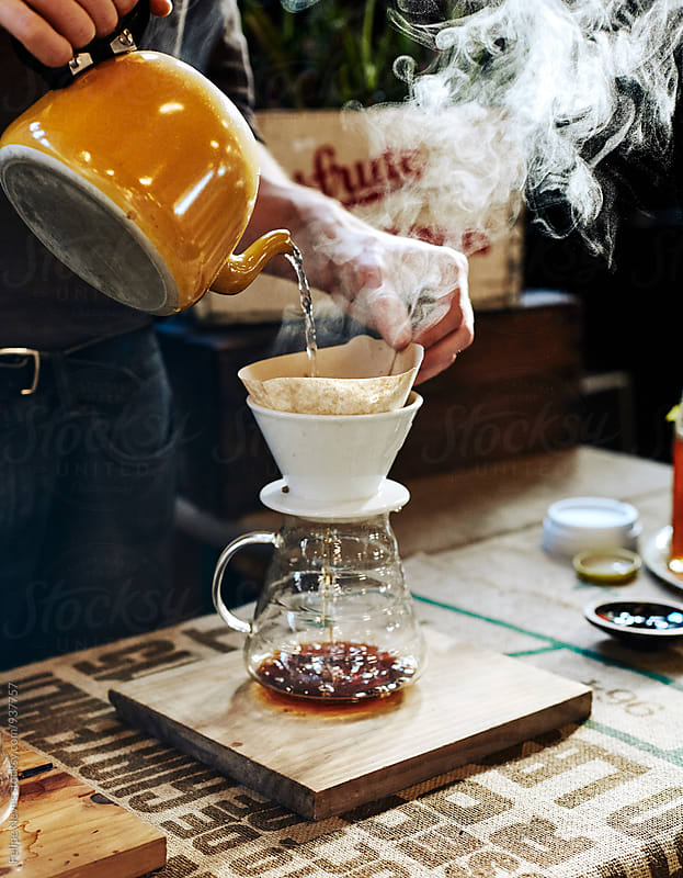 Pour-over Coffee by Felipe Neves for Stocksy United