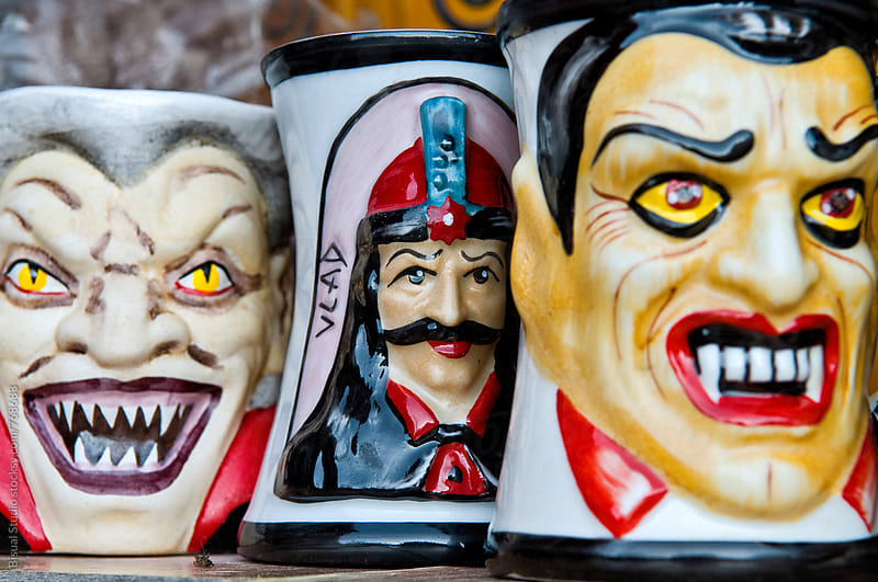 Coffe cups of Dracula by Bisual Studio for Stocksy United