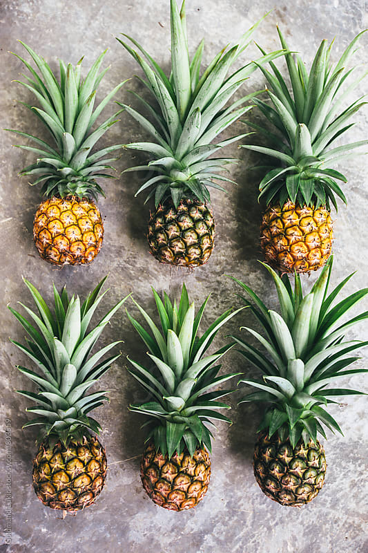 Ripe Pineapples by Goldmund Lukic for Stocksy United