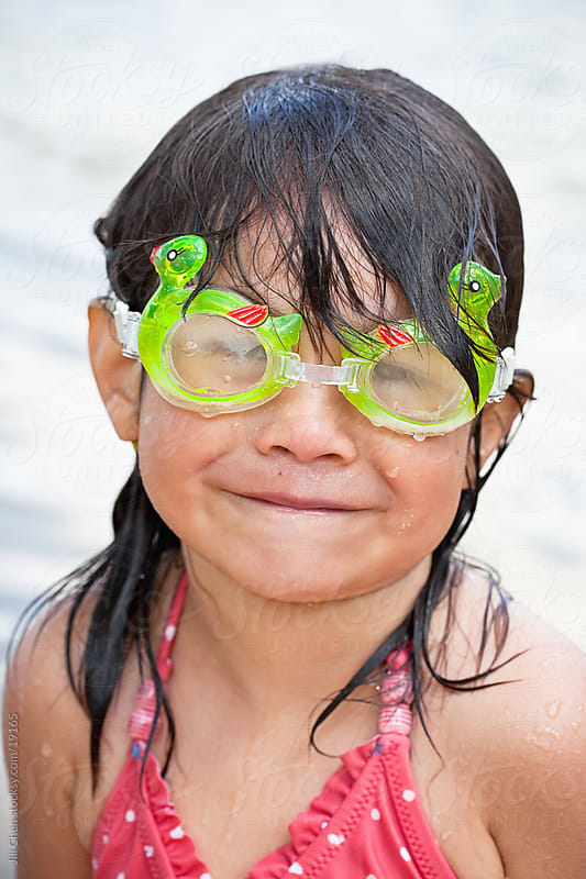Swim Goggles by Jill Chen for Stocksy United