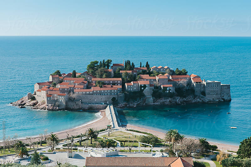Sveti Stefan island in Montenegro by Zocky for Stocksy United